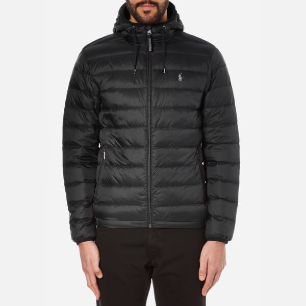 Polo Ralph Lauren Men's Lightweight Down Jacket - Polo Black ...