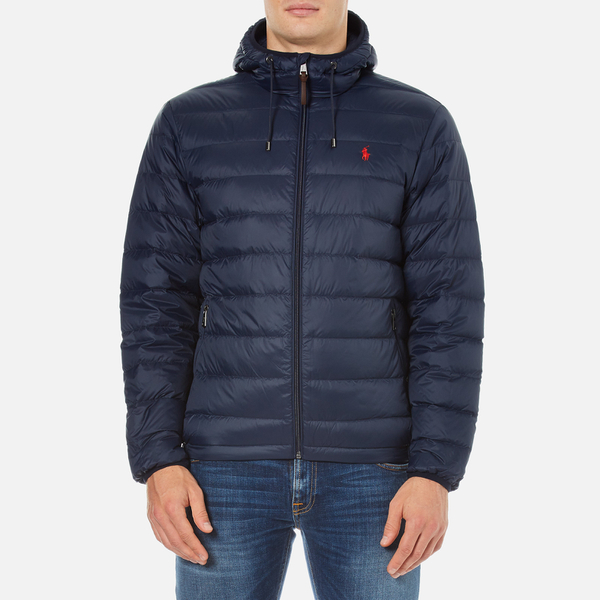 Polo Ralph Lauren Men&39s Lightweight Down Jacket - Aviator Navy