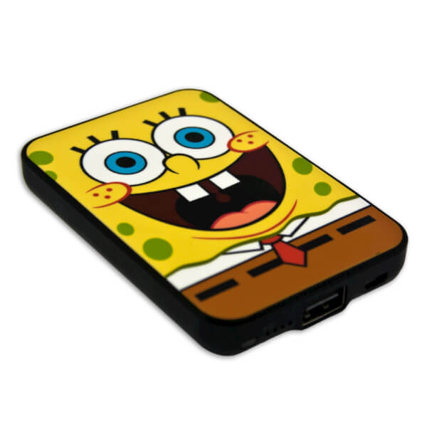 SpongeBob SquarePants Credit Card Sized Power Bank (5000mAh)
