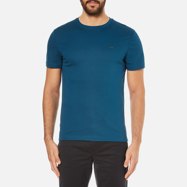 Michael Kors Men's Sleek MK Crew T-Shirt - Pacific Blue