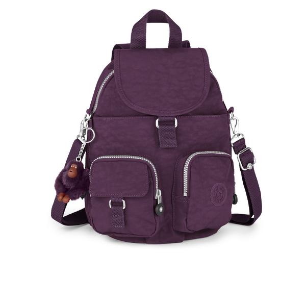 a66e38ad098d Kipling Women s Firefly Medium Backpack - Plum Purple  Image 1