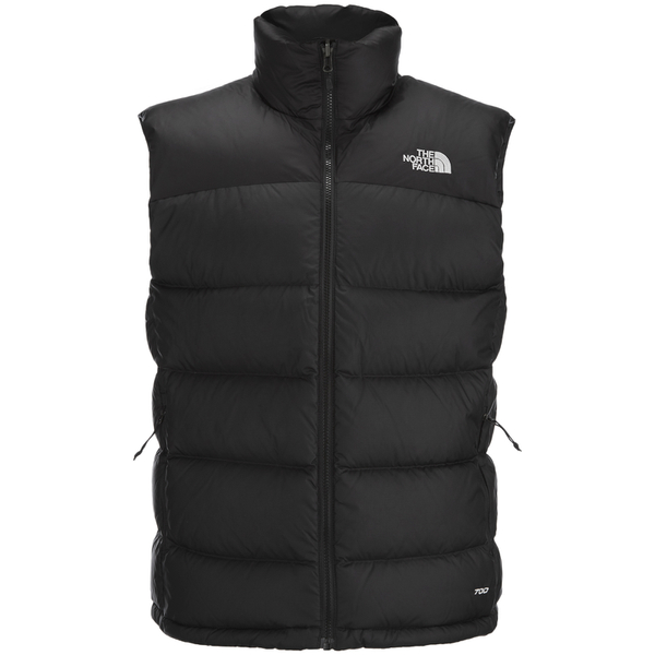 The North Face Men S Nuptse 2 Vest Tnf Black Clothing Thehut Com