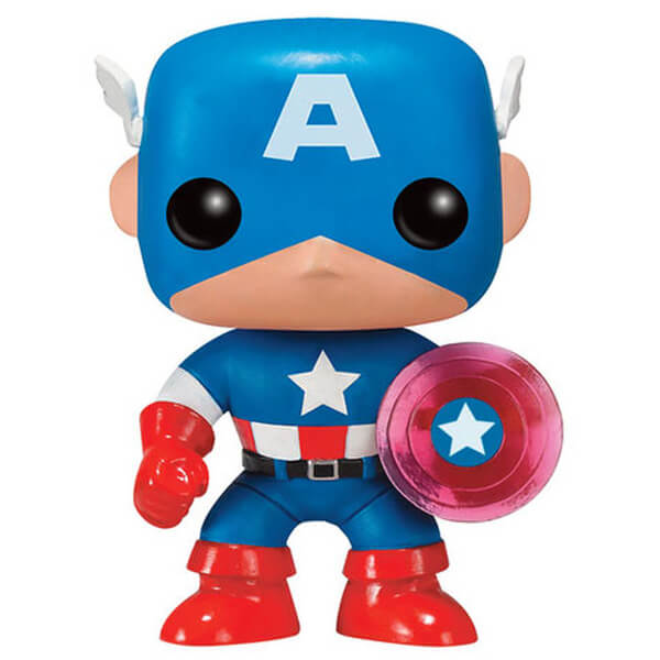 Marvel Captain America 75th Anniversary Limited Edition EXC Pop! Vinyl Figure