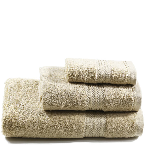 Restmor 100% Egyptian Cotton 3 Piece Towel Bale (500GSM) - Latte