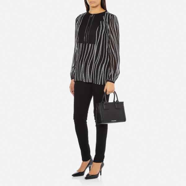 para Lagerfeld bolso mujer mano imagen negro de Karl Kklassik en mini 2 xfqRwnYd