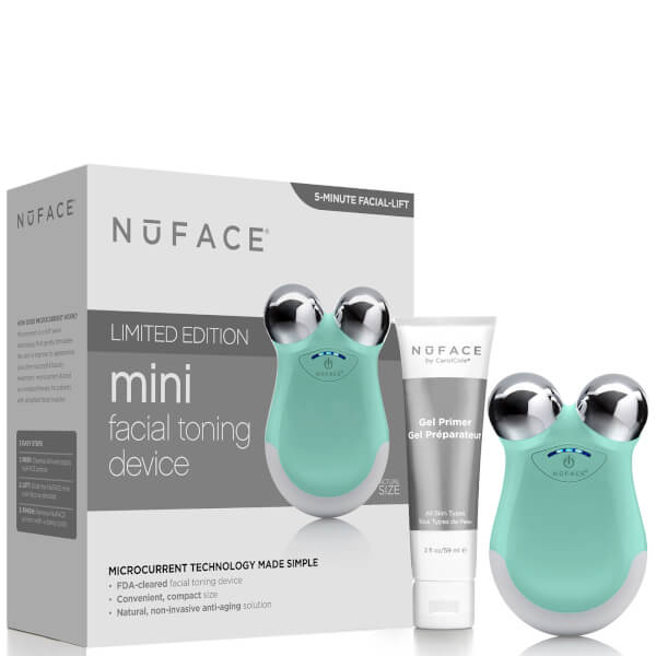 NuFACE Mini Facial Toning Device - Caribbean Sea