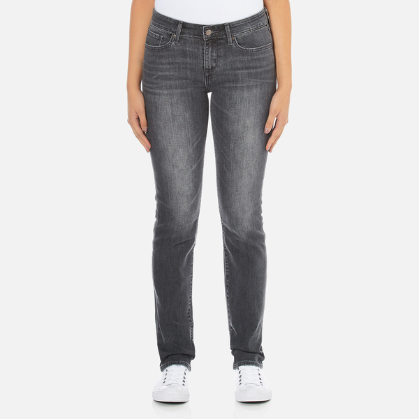 Levi's Women's 712 Slim Straight Fit Jeans - Burnt Ash