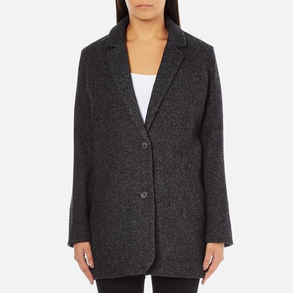 Levi's Women's Wool Cocoon Coat - Bleached Wool