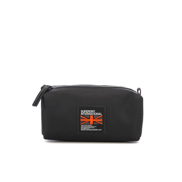 9c0509b242 Superdry Men s City Breaker Wash Bag - Black Mens Accessories ...