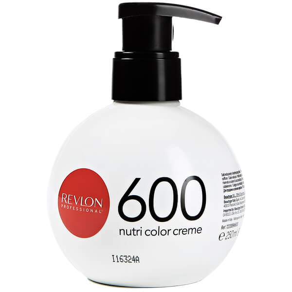 Revlon Professional Nutri Color Creme 600 Fire Red 250ml