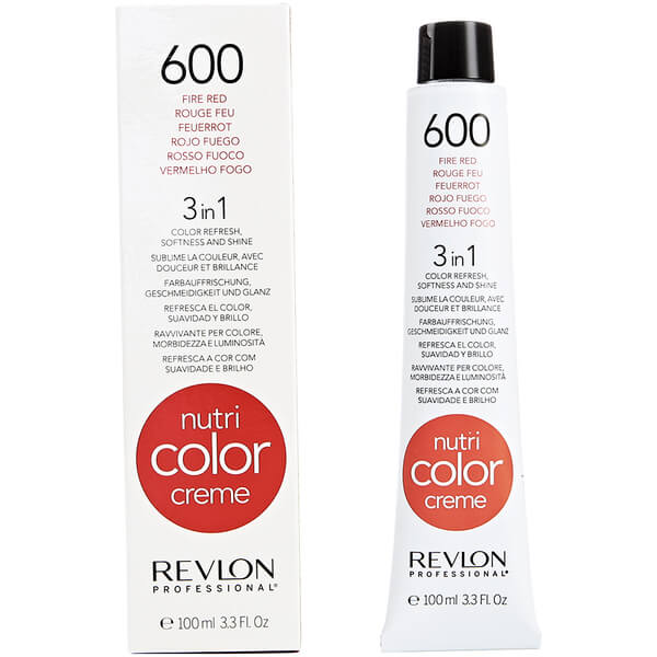 Revlon Professional Nutri Color Creme 600 Fire Red 100ml