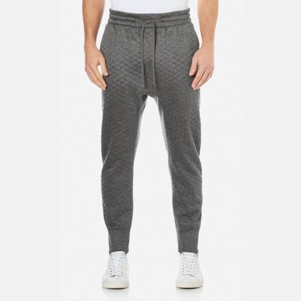 Helmut Lang Men's Embossed Jersey Sweatpants - Grey