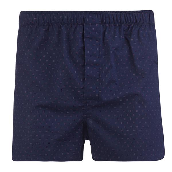 Derek Rose Men's Nelson 21 Modern Fit Boxer Shorts - Navy
