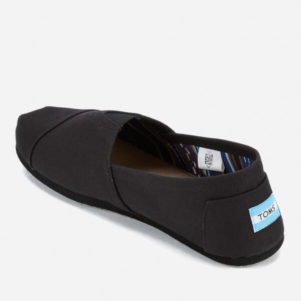 87bf4dff08 TOMS Men's Core Classics Slip-On Pumps - Black/Black | FREE UK ...