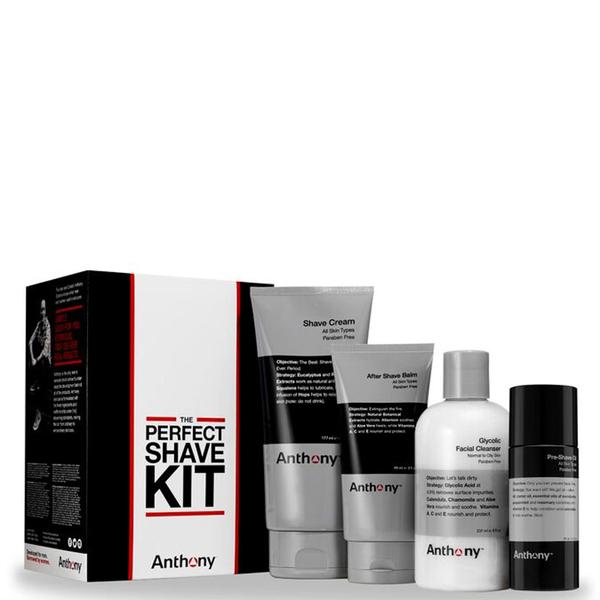 El Kit Perfecto de Afeitado deAnthony