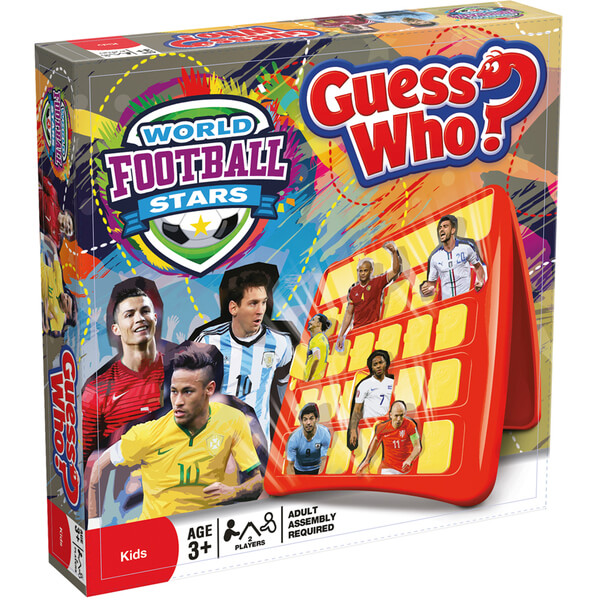 World Football Stars – Guess Who Toys