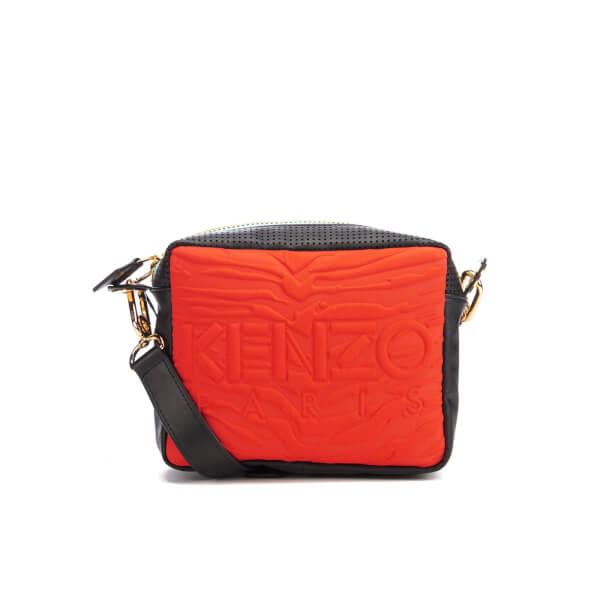 KENZO Women's Kombo Camera Bag - Red/Pink