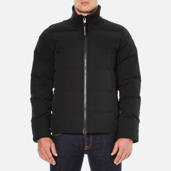 canada goose black mens jacket
