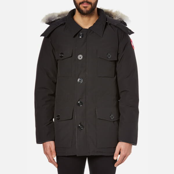 Canada Goose Men's Banff Parka - Black