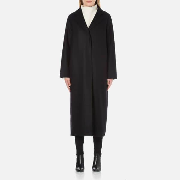 McQ Alexander McQueen Women's Long Boyfriend Coat - Black