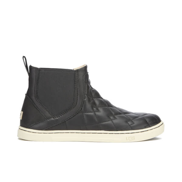 UGG Women's Hollyn Deco Quilt Hi-Top Trainers - Black