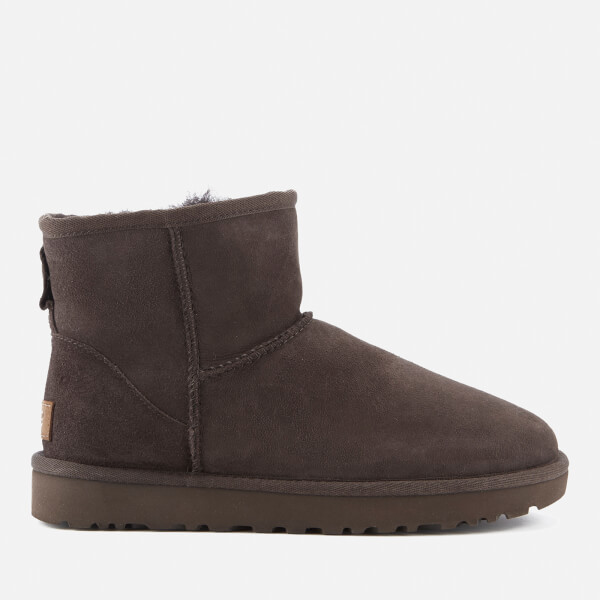 UGG Women's Classic Mini II Sheepskin Boots - Chocolate: Image 1