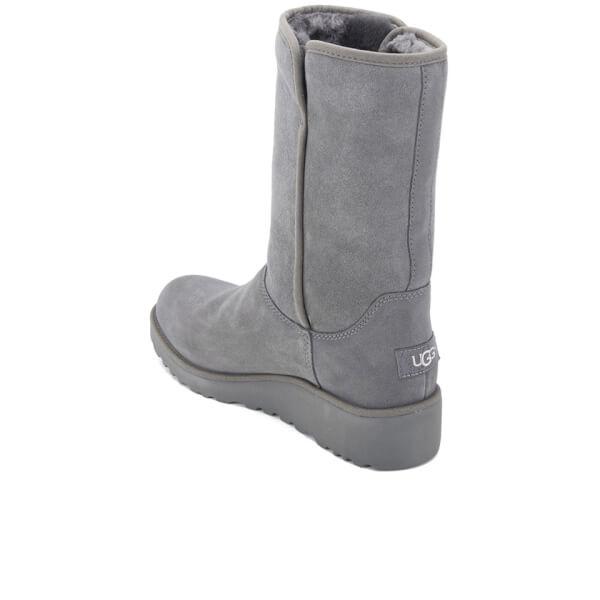 UGG Women s Amie Classic Slim Sheepskin Boots - Grey  Image 4 b10a23318d