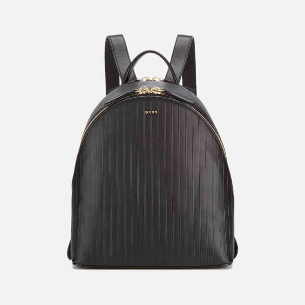 1f98d25274 DKNY Women s Gansevoort Pinstripe Backpack - Black Womens ...