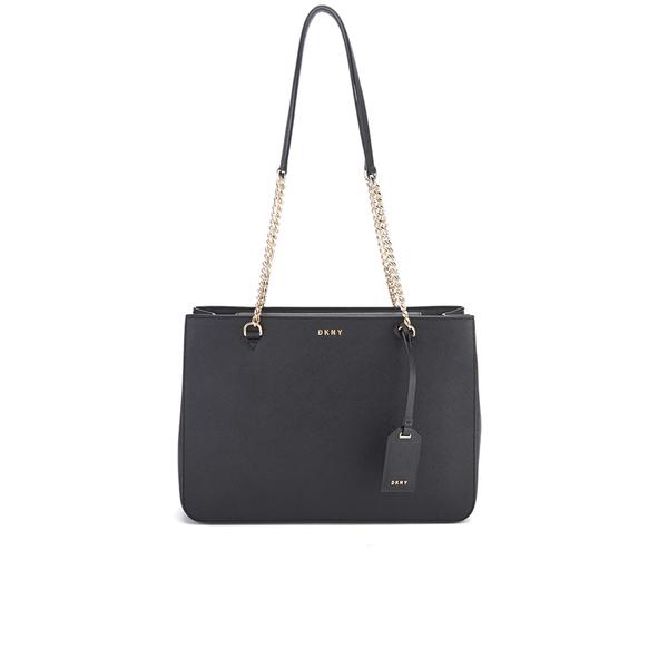 DKNY Women s Bryant Park Shopper Tote Bag - Black  Image 1 bfcb9fb213d29