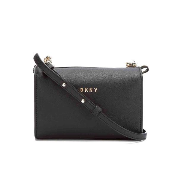 DKNY Women's Bryant Park Square Crossbody Bag - Black