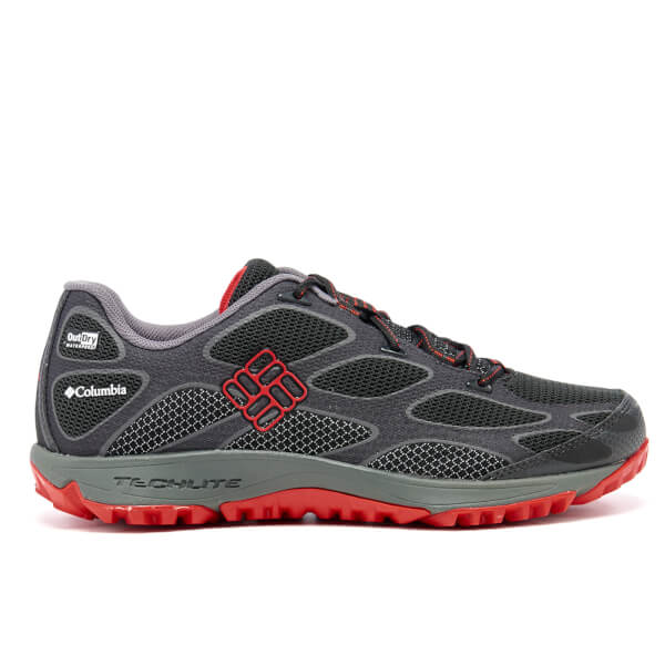 Columbia Men's Conspiracy IV Outdry Hiking Shoes - Black/Bright Red: Image 1