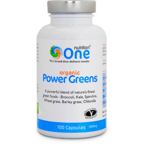 Power Greens Organic (500mg)