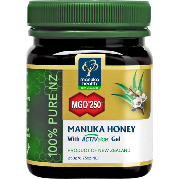 Manuka Health MGO 250+ Manuka Honey Plus Aloe Vera 250g