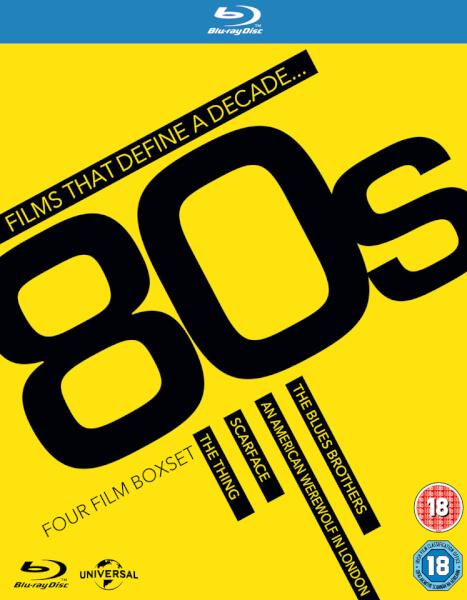 Films That Define A Decade Boxset - 80's