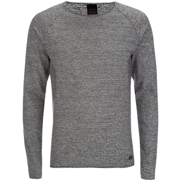 Produkt Men's Twist Knit Crew Neck Jumper - Cloud Dancer