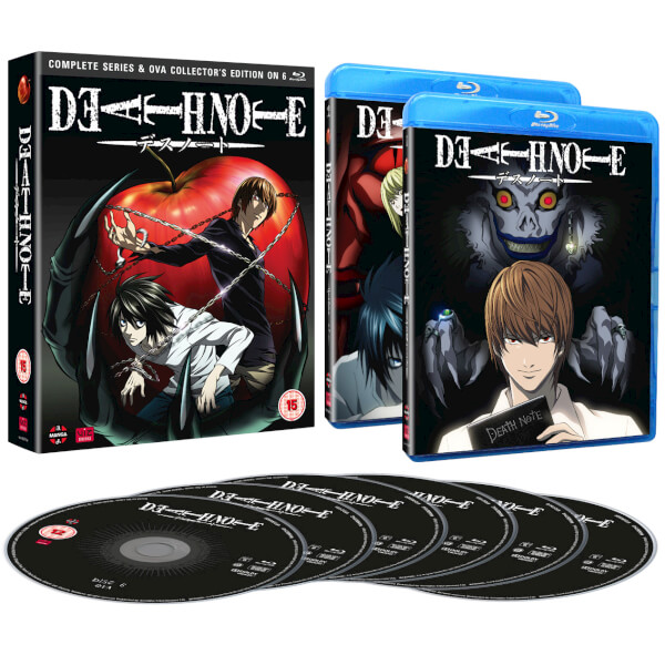 Death Note Complete Series and OVA - Collector's Edition