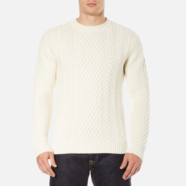 Edwin Men's United Sweatshirt - Natural