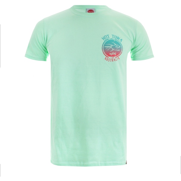 Hot Tuna Men's Colour Fish T-Shirt - Mint