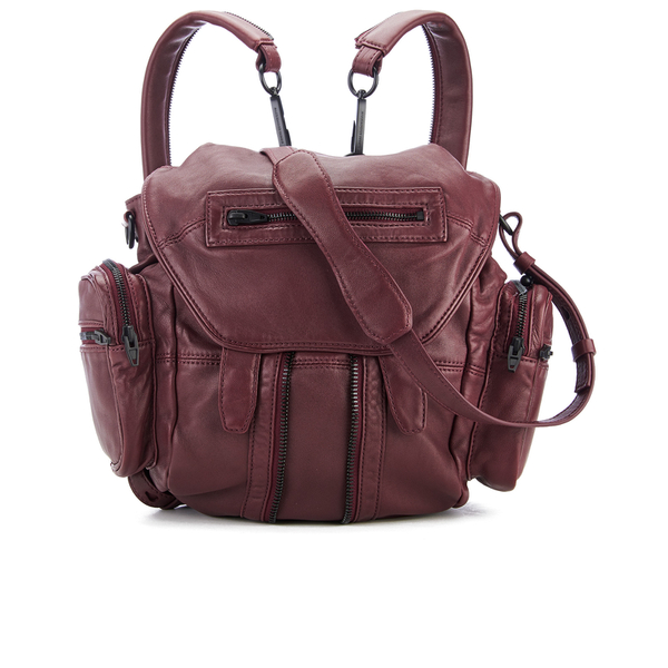 Alexander Wang Women's Mini Marti Backpack - Beet
