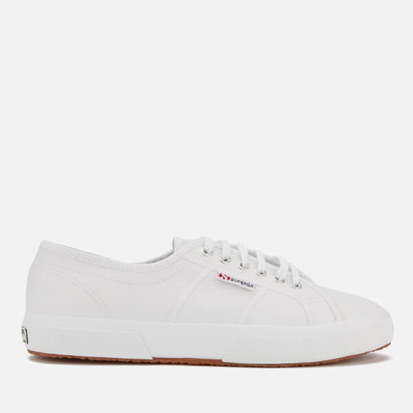 Superga 2750 Fglu Leather Trainers - White