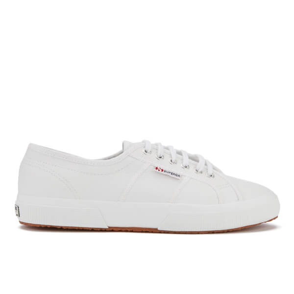 Superga Men's 2750 Fglu Leather Trainers - White
