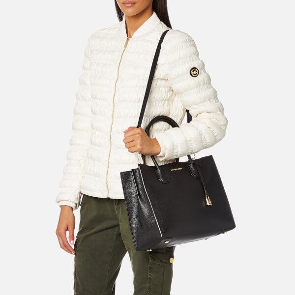 MICHAEL MICHAEL KORS Women s Mercer Large Conversational Tote Bag - Black   Image 3 7d06d59ce9