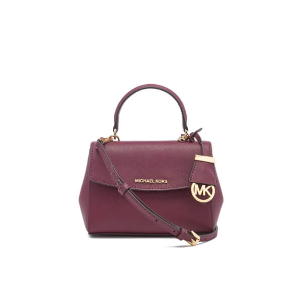 c4d4f7a5bdb1 MICHAEL MICHAEL KORS Women's Ava XS Cross Body Bag - Plum: Image 1