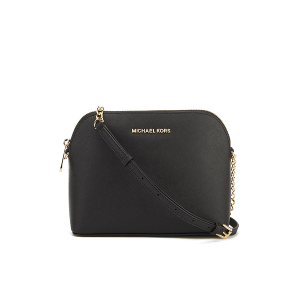 MICHAEL MICHAEL KORS Women's Cindy Large Dome Cross Body Bag - Black