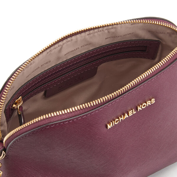 0bf43f69f779 MICHAEL MICHAEL KORS Women's Cindy Large Dome Cross Body Bag - Plum: Image 6