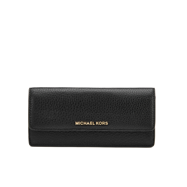 MICHAEL MICHAEL KORS Women's Bedford Large Flat Wallet - Black