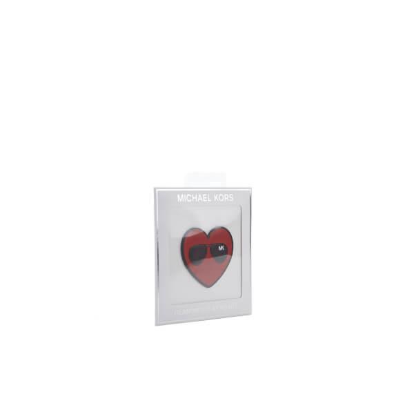 MICHAEL MICHAEL KORS Women's Glamorous At Heart Sticker Pouch - Crimson