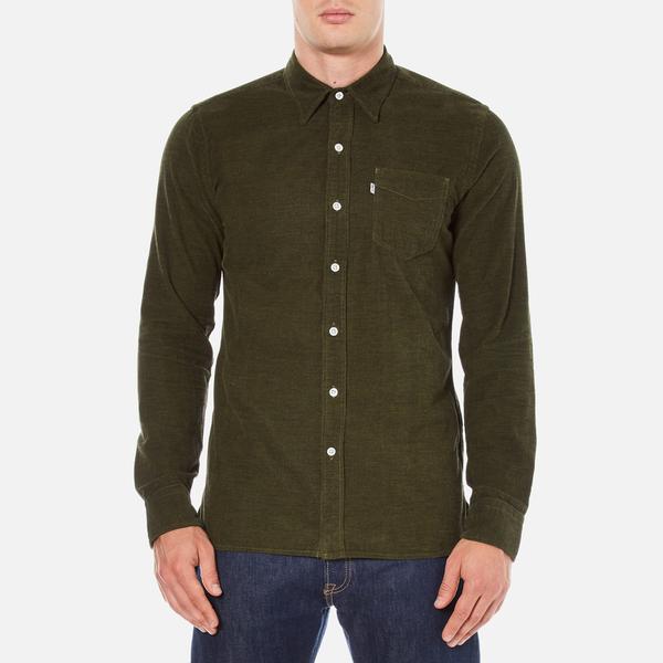 Levi's Men's Sunset 1 Pocket Shirt - Olive Night Melange