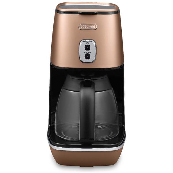 De'Longhi ICMI211.CP Distinta Filter Coffee Maker - Matt Copper