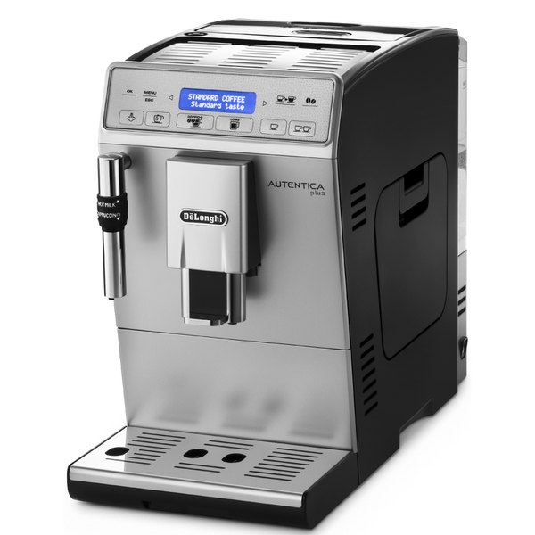 de 39 longhi autentica plus bean to cup coffee machine black iwoot. Black Bedroom Furniture Sets. Home Design Ideas